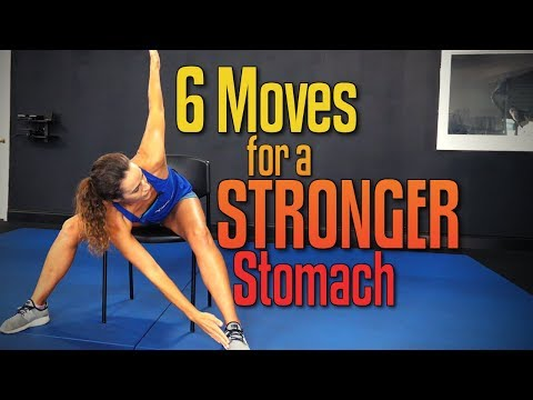 3 Minute STRONG CORE – Seated Ab Strength Routine for All Levels