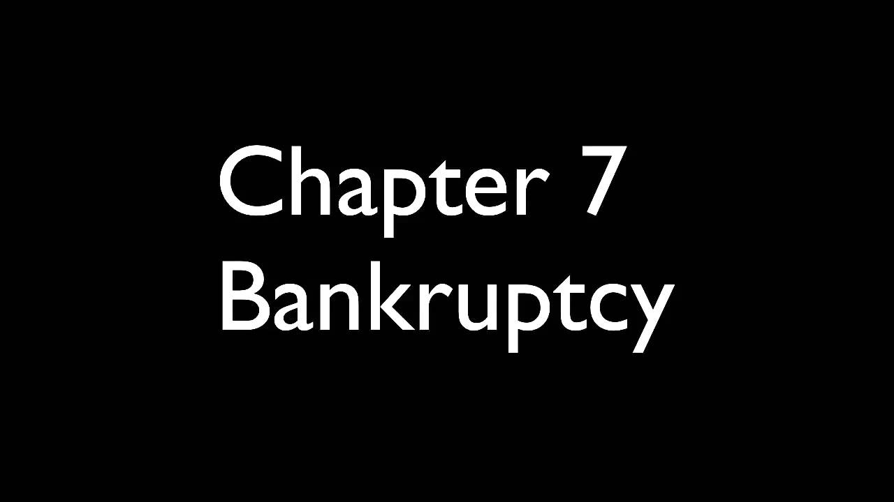 Filing a Chapter 7 Bankruptcy Using Best Case - YouTube