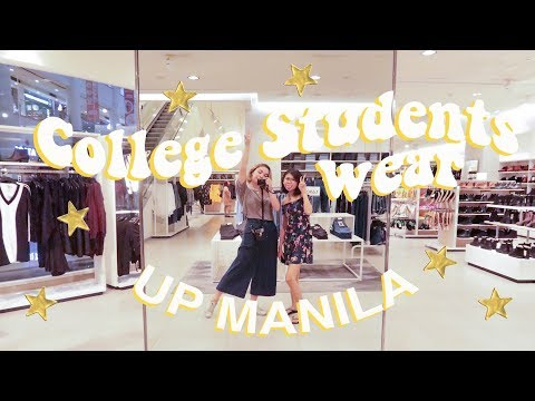 What College Students Wear in UP Manila (Philippines) Joslin Nicole