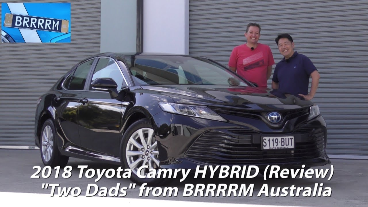 All New Camry 2018 Australia Kijang Innova Semisena Toyota Hybrid Two Dads Review Brrrrm