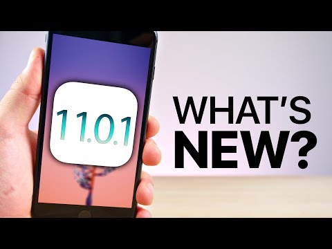 iOS 11.0.1 Released! What's New Review!