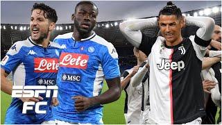Will Juventus Cristiano Ronaldo struggle vs Napoli in the Coppa Italia final ESPN FC