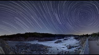 Flat Earth Star Trails Explained
