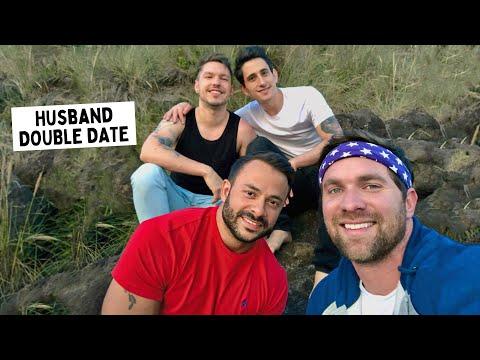 GAY HUSBAND'S BEACH DAY | Husband And Husband