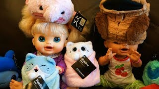 BABY ALIVE Helps Review Hashtag Collectibles Stuffed Animals!