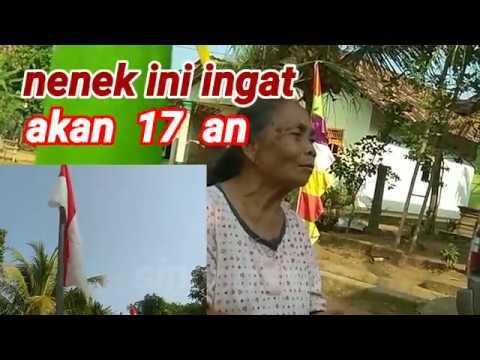Nenek Ini Menyanyikan Lagu Indonesia Raya