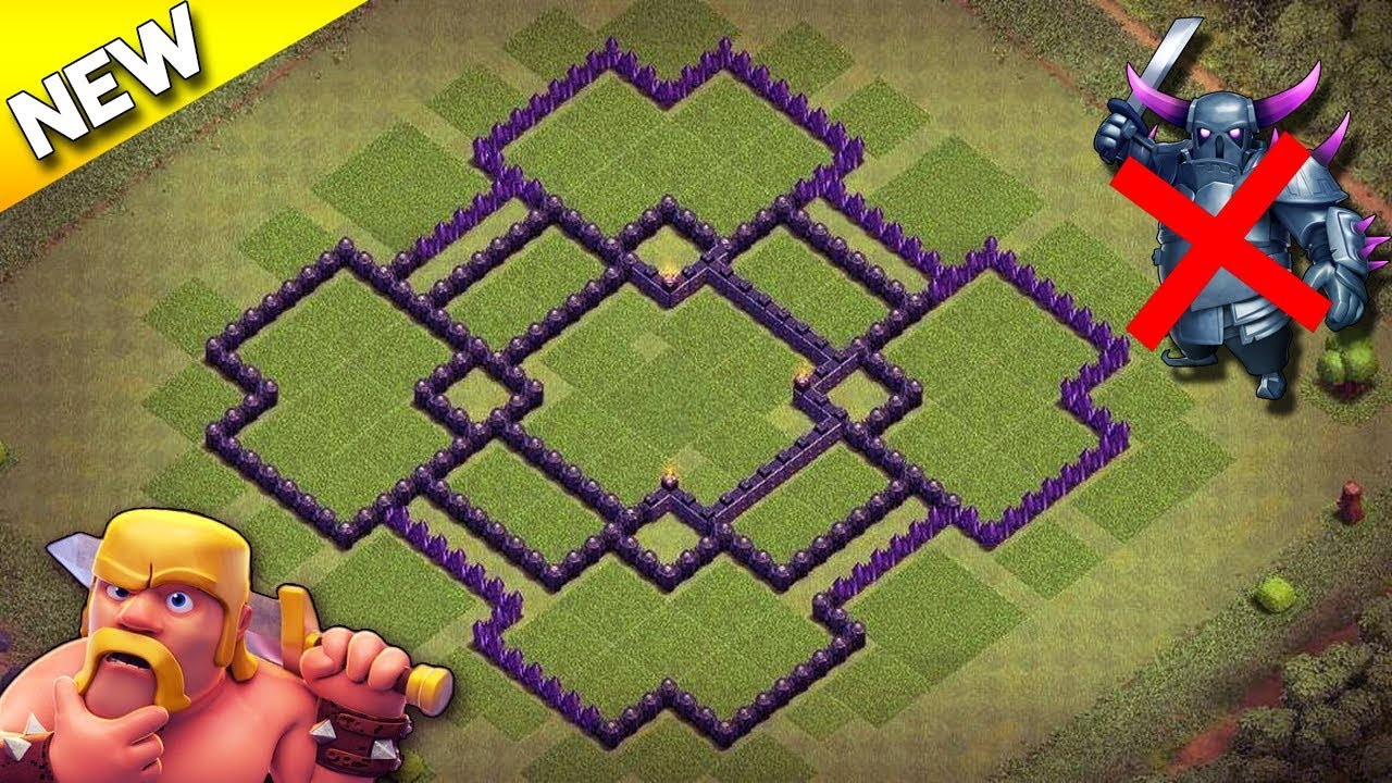 clash of clans best defense base town hall 9 anti everything
