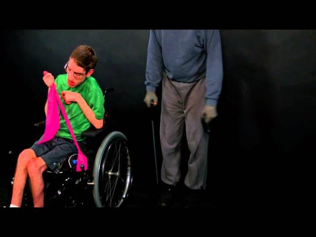 Adaptive Exercises: Arm Raises