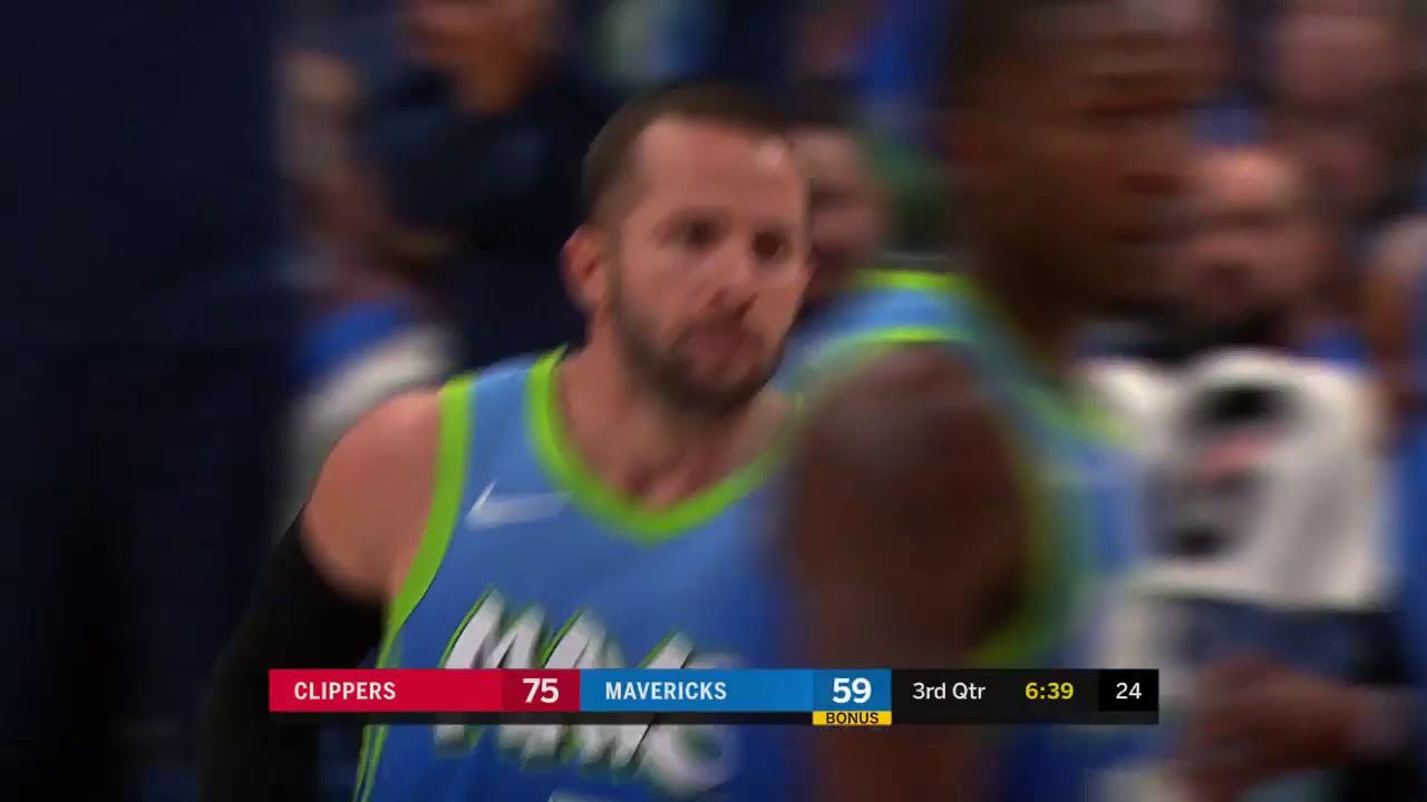 J J Barea 12 Points Highlights Vs Los Angeles Clippers