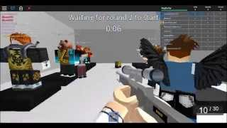 Roblox:AWP Attack gameplay with my cousin