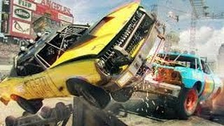 Dirt Showdown XBOX 360 Race & Demolition Derby Gameplay.
