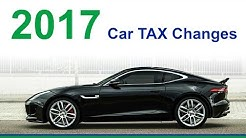 2017 UK Car Tax Changes