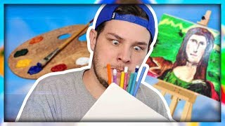 STARVING ARTIST DRAWS COOKIES FOR MONEY!!! | Passpartout The Starving Artist