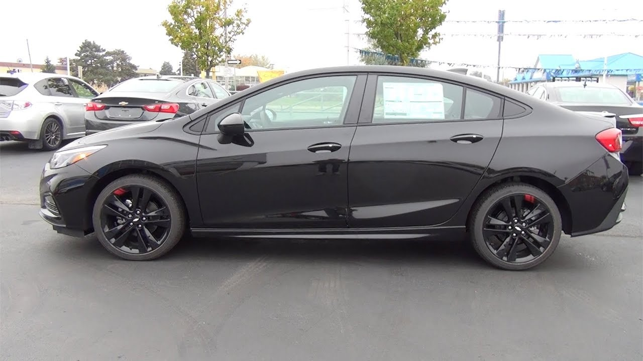 "2018 CHEVROLET CRUZE ""REDLINE"" - MOSAIC BLACK - YouTube"