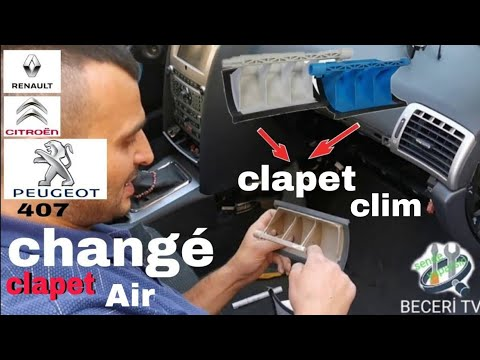 changer clapet chauffage HOW TO FIX REPAIR DIY BROKEN HEATER FLAP  Peugeot,Citroën,Peugeot BECERI TV