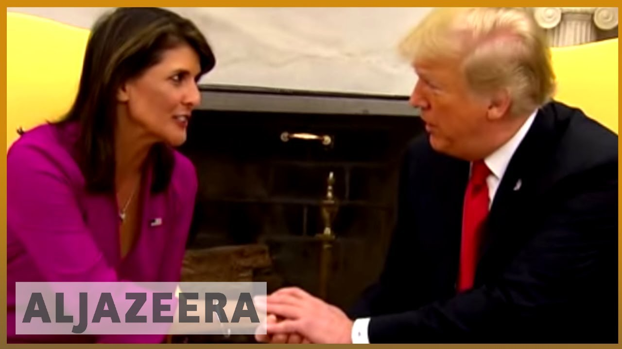 🇺🇸 Nikki Haley resigns as US ambassador to United Nations | Al Jazeera English