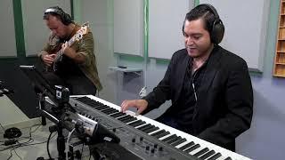 Cristian Cuevas y Rodner Padilla En El Estudio Grabando