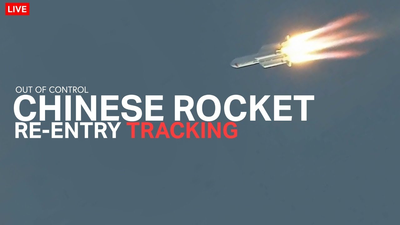 Out-of-control Chinese rocket expected to crash back to Earth this ...