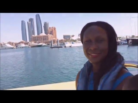 Abu Dhabi Marina - Emirates Palace Marina - Yellow boats tour