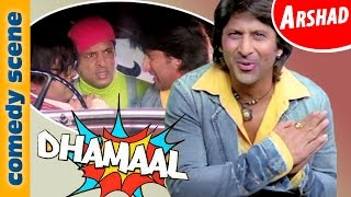 Arshad Warsi Comedy Scenes | Dhammal | Indian Comedy