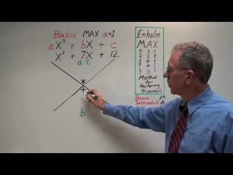 Factoring Trinomials - Basic MAX - Full Explanation