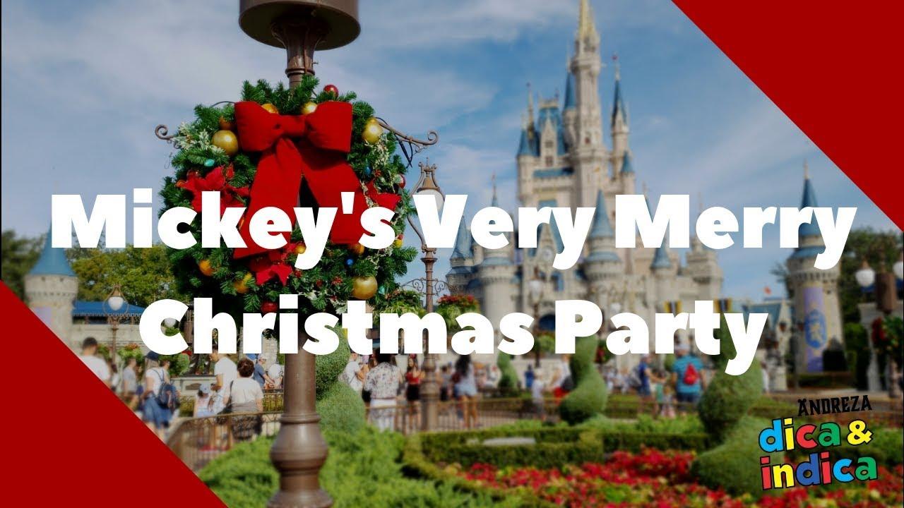 Mickey's Very Merry Chtistmas Party, a festa de Natal no Magic