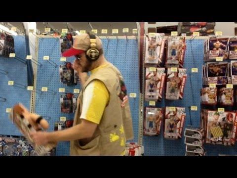 Wwe Action Insider Walmart Elite 19 Wrestling Figures Aisle