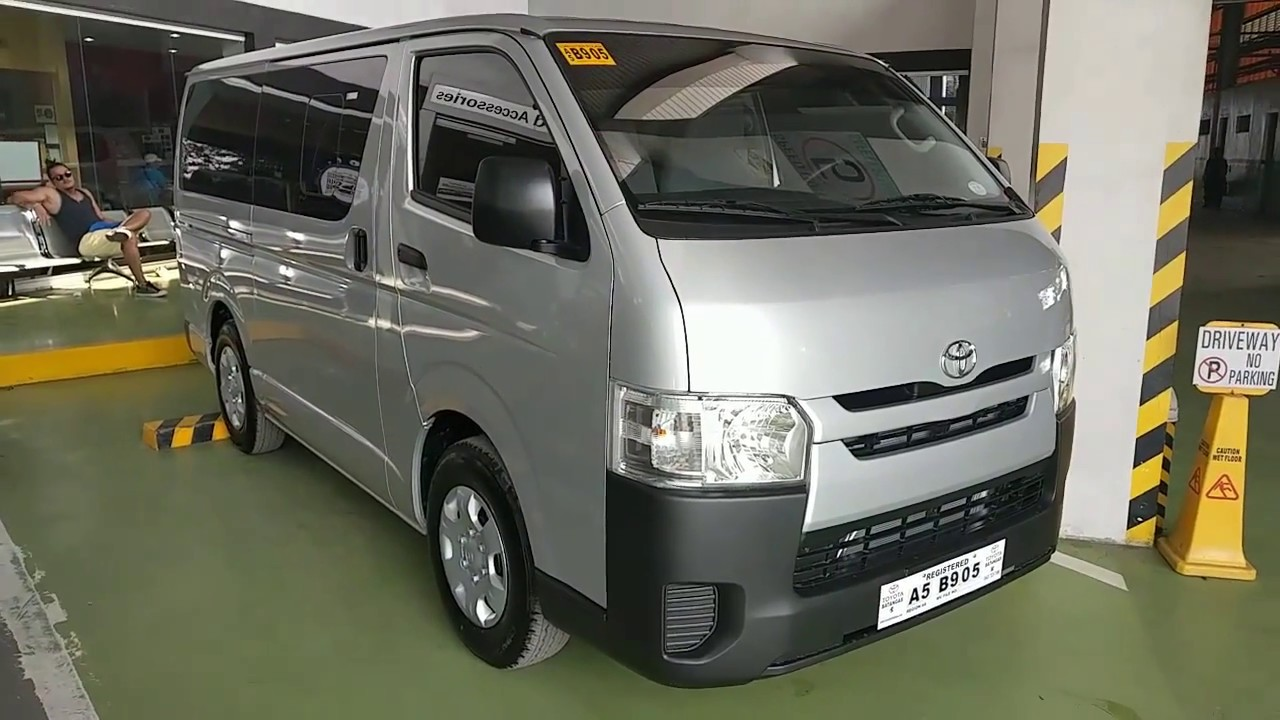 Toyota Hiace Commuter 3 0l Silver Philippines Youtube