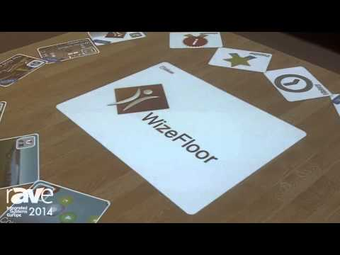 ISE 2014: WizeFloor Shows an Interactive Learning Tool Projected on Floors