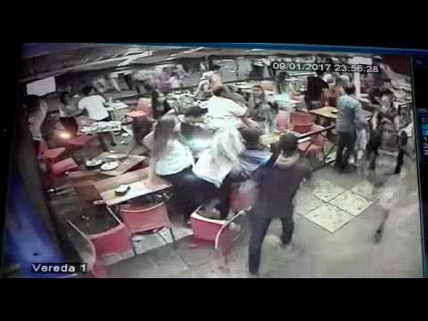 Pánico en el centro de Carlos Paz por un confuso episodio violento