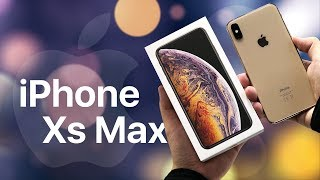 Ухожу с Meizu 16th: распаковка iPhone XS Max