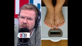 Weighing Children At School Won't Stop Obesity Crisis, Warns James O'Brien