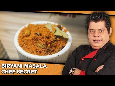 Biryani Masala Chef Secret