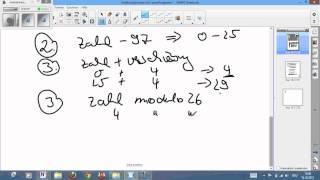 Kryptologie - Caesar Algorithmus