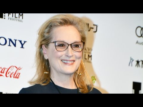 Meryl Streep At Florence Foster Jenkins Press Conference In Japan! メリル・ストリープ「マダム・フローレンス」記者会見