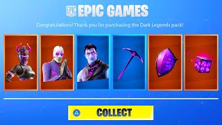 HOW TO GET NEW FORTNITE DARK LEGENDS PACK! NEW FORTNITE DARK LEGENDS BUNDLE! DARK LEGENDS GAMEPLAY