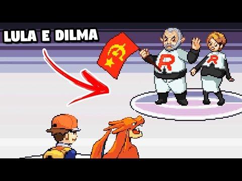 RED VS LULA POKEMON PARODIA