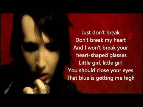 Marilyn Manson - Heart-Shaped Glasses [Lyrics]