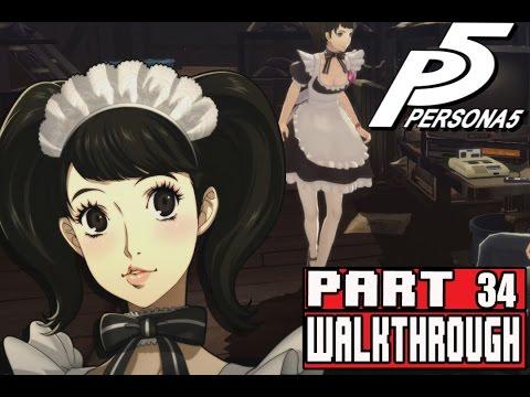 Persona 5 Gameplay Walkthrough Part 34 Takemi & Kawakami Rank 9,  Makoto Bonding, Chihaya Date
