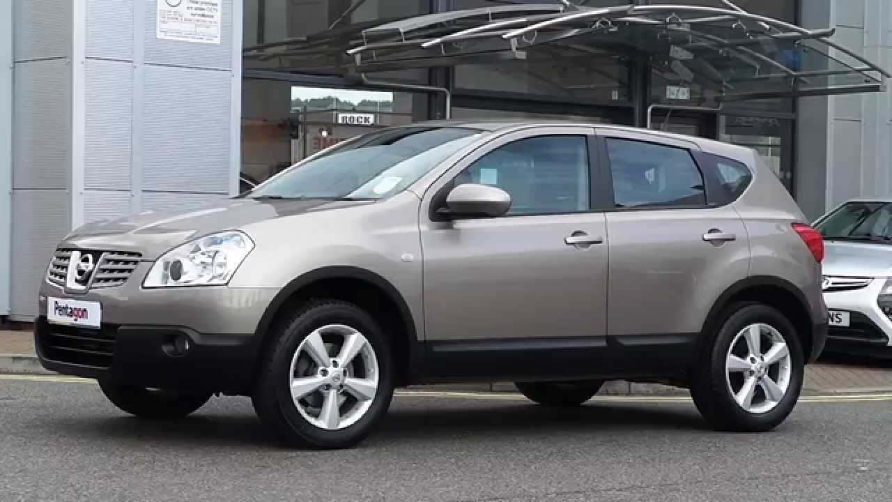 2009 09 plate nissan qashqai 1 5 dci acenta 5dr in pale gold youtube. Black Bedroom Furniture Sets. Home Design Ideas
