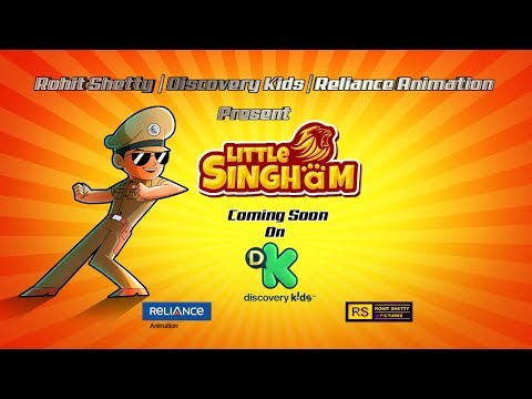 Little Singham | Official Trailer | Animation TV Series