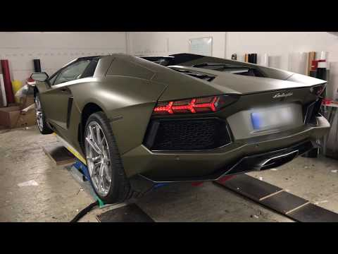 Lamborghini Aventador Roadster Military Green Matt  By DieFolierer.de