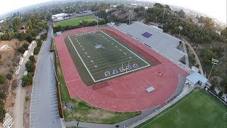 Go Poets! - Whittier College Athletics - Birds Eye View