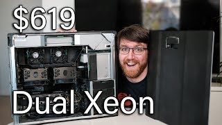 Dual Intel Xeon, 48Gb BEAST for under $700! (With Benchmarks)