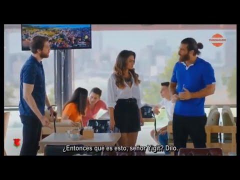 Can Y Sanem Descubren A Yigit. En Turco.