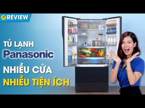 Tủ lạnh Panasonic 494 lít: ngăn đá dưới, cấp đông mềm, khử mùi tốt (NR-CY550GKVN) • Điện máy XANH