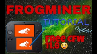 How to install CFW for FREE on version 11.8 using Frogminer method