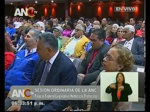 Zhandra Rodríguez, discurso ante la ANC por la Constituyente de la Identidad Cultural