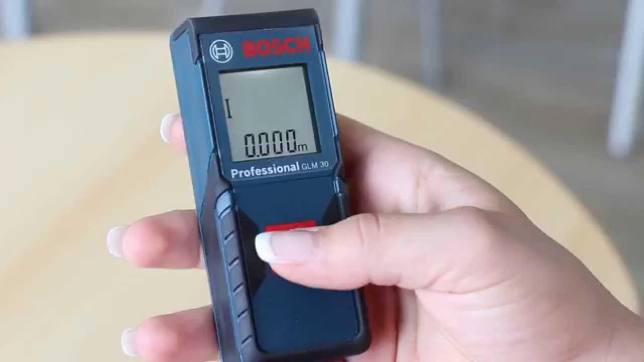 Bosch Entfernungsmesser Glm 30 Test : Bosch glm professional lasermessgerät youtube