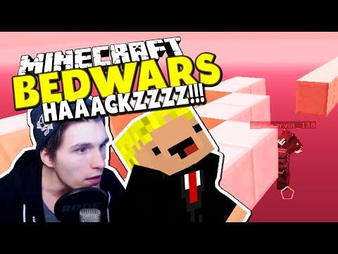 """""""HIER FLIEGT EINER"""" - FLY HACKER AUF FRISCHER TAT ERTAPPT! ✪ Minecraft Bedwars Tag 46 mit Rewi"""